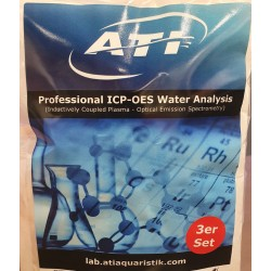 ATI ICP Analyse d'eau set de 3